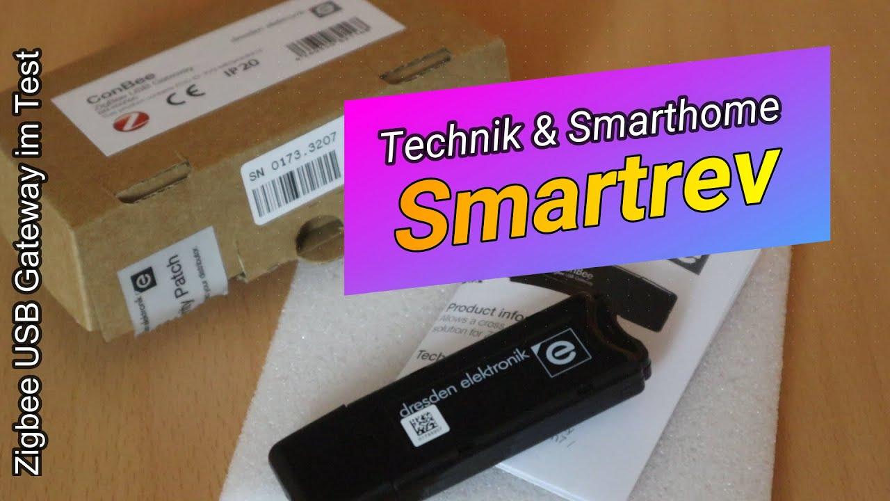 Zigbee USB Stick - ConBee als Ersatz zu CC2531 im Test