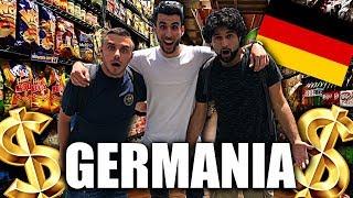 😱SIAMO in GERMANIA! la SPESA in un SUPERMERCATO a BERLINO! 🇩🇪| VLOG w/FIUS GAMER