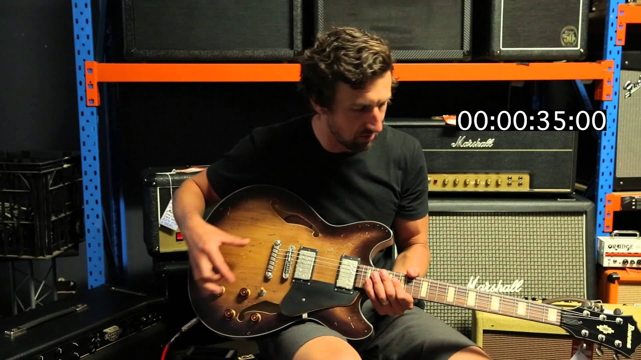 ibanez asv10a 60 second review youtube