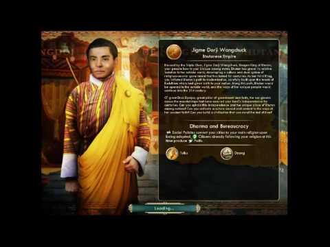 Kingdom of Bhutan  - Jigme Dorji Wangchuck   Peace