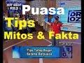 Tips Diet Sehat Saat Puasa Serta Mitos dan Fakta Puasa. Dr.OZ Indonesia