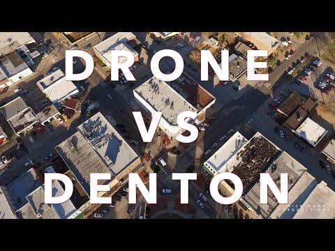 DRONE VS DENTON!!