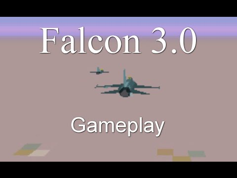 Let's Play Falcon 3 - Episode 1 - Flying and Falling
