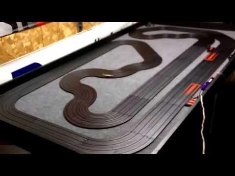 Slot car track, HO- slot car