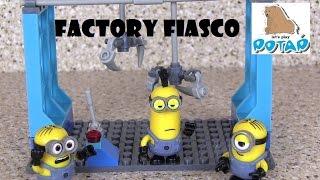 Factory Fiasco! Mega Bloks Миньоны Мультик. Игрушки для Мальчиков. Игры для Детей. Видео для Детей