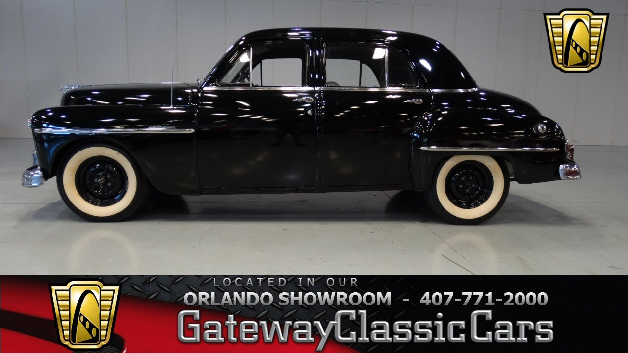1950 Plymouth Special Deluxe Youtube 1941