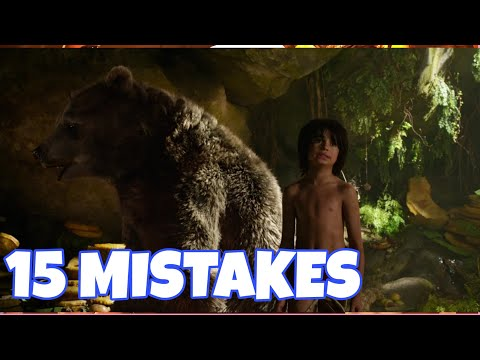 Jungle book 15 mistakes hollywood movie 2016