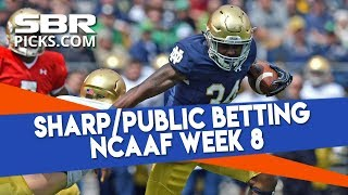 College Football Week 8 Sharp & Public Betting | Into The Weekend with BetDSI thumbnail