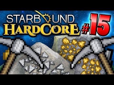 Starbound HC! - MINING PARTY (Part 15)