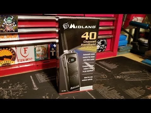 Midland 40 Channel Handheld CB Radio Transceiver