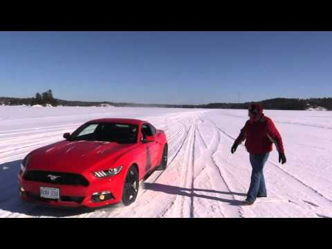 2015 Ford Mustang EcoBoost Ice Road Test