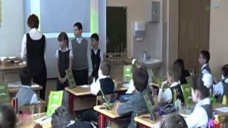 Видеозапись урока для конкурса