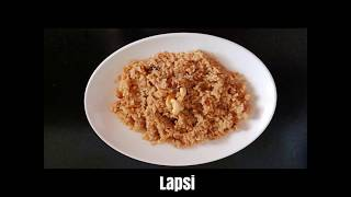 Lapsi l Gujarati sweet Dish l Broken wheat Halwa l weight loss dessert l Healthy Indian Dessert
