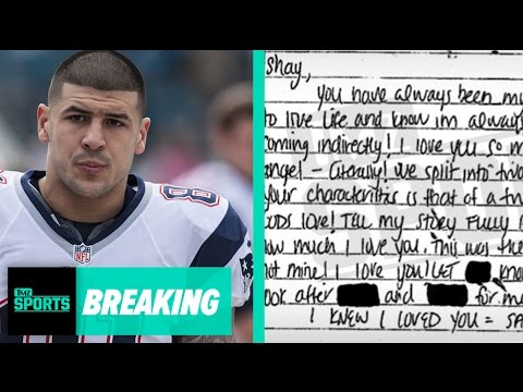 "Aaron Hernandez's Suicide Note To Fiancee Released: ""You're Rich""  
