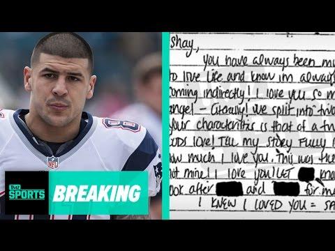 Aaron Hernandez's Suicide Note To Fiancee Released: