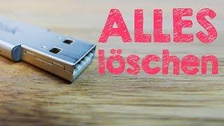 Mac OS X USB-Sticks formatieren, Festplatten, Speicherkarten, Speichermedien löschen, Deutsch