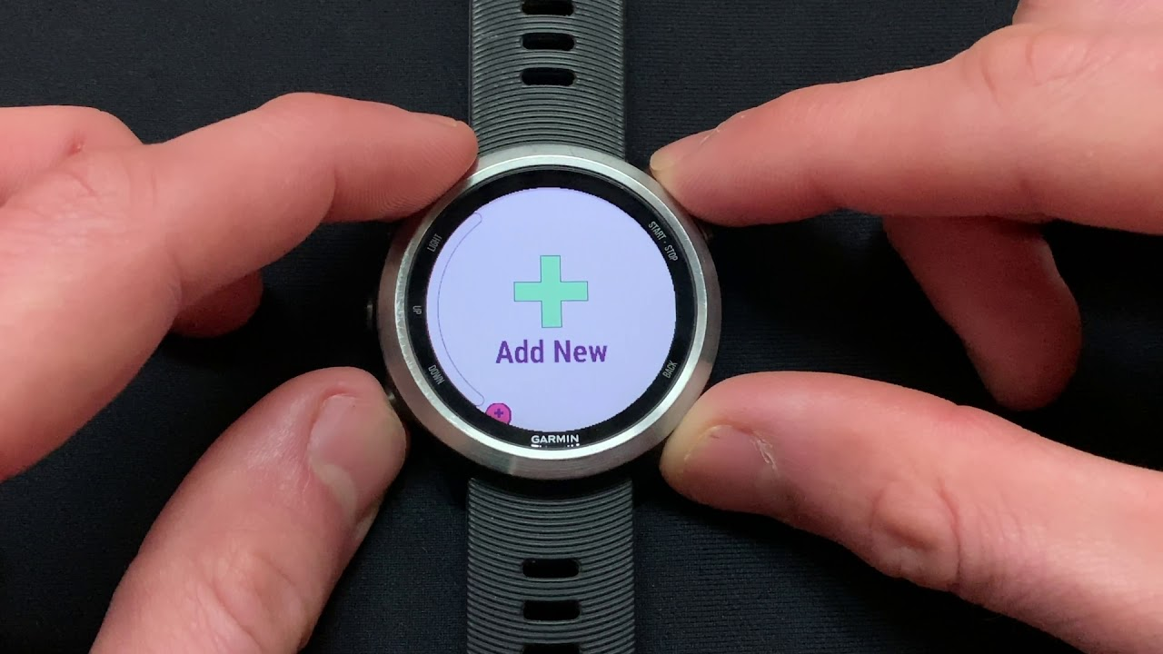 Garmin Forerunner 645/M: Display and Record 'Stryd Power' On Your Watch In  'Run' Mode