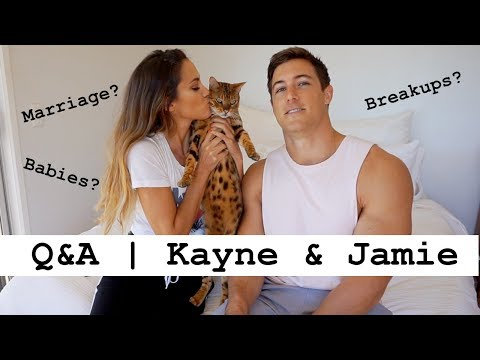 KAYNE AND JAMIE Q&A | Our first youtube video!!