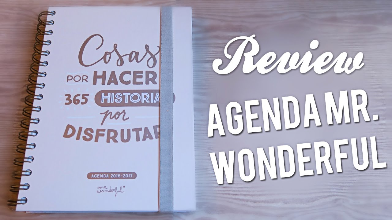 Review agenda mr wonderful 2016 2017 youtube - Mr wonderful agenda 2017 ...