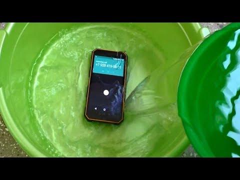 NOMU S10 Incoming Call Underwater