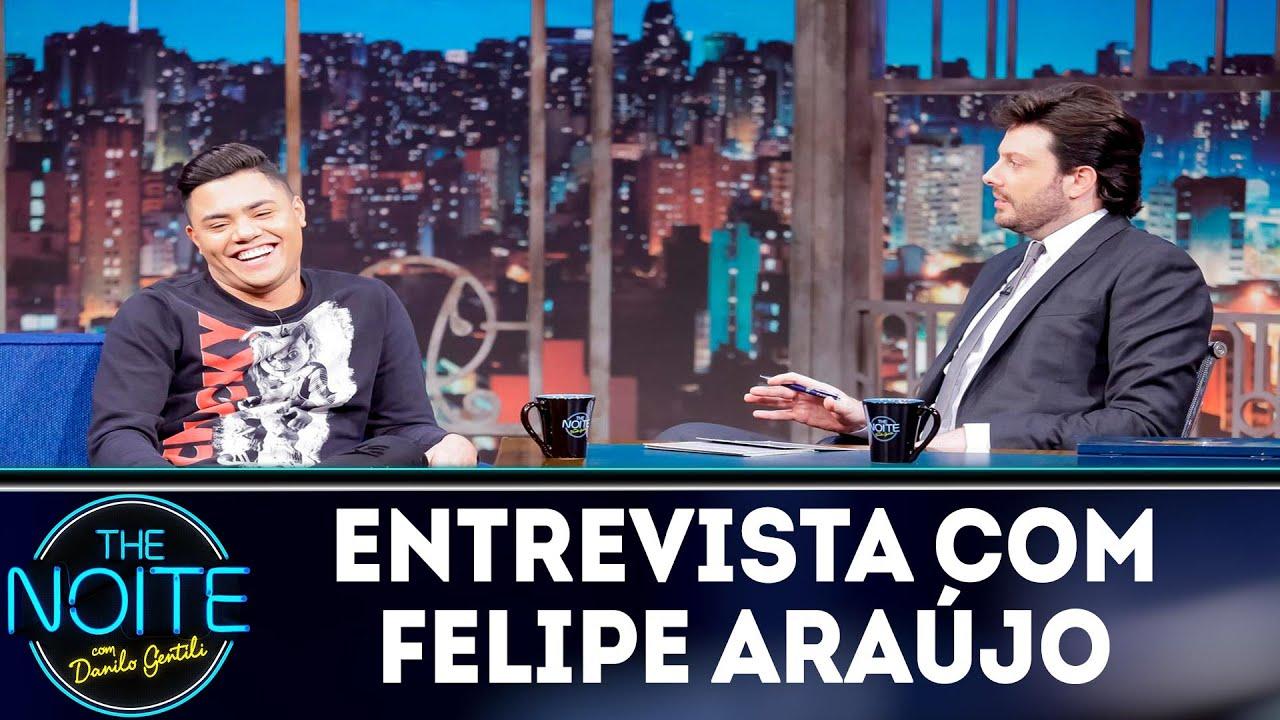 Entrevista com Felipe Araújo | The noite (12/11/18)