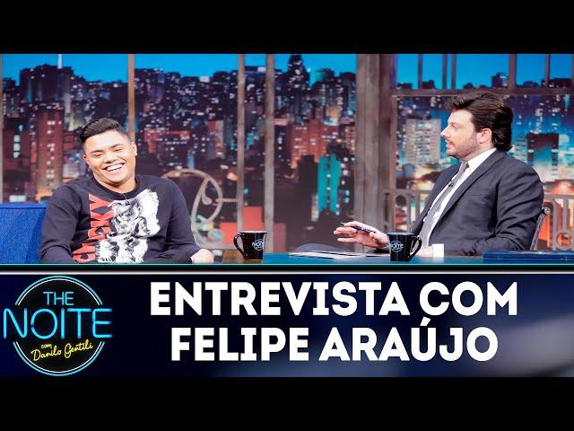Entrevista com Felipe Araújo   The noite (12/11/18)