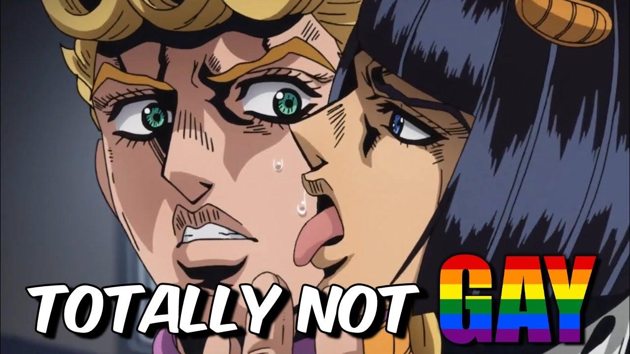 Explaining Why JoJo's Bizarre Adventures is TOTALLY NOT GAY