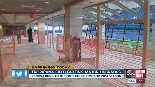 Renovations planned for Rays stadium Tropicana Field