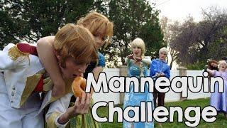 Mannequin Challenge - Disney Princess Style