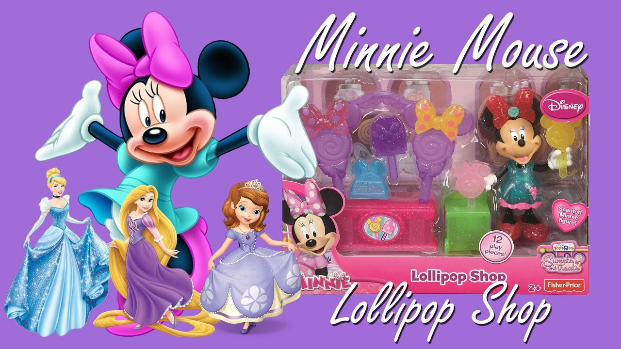 Minnie Mouse Toys - Lollipop Shop - Mickey Mouse Clubhouse ...