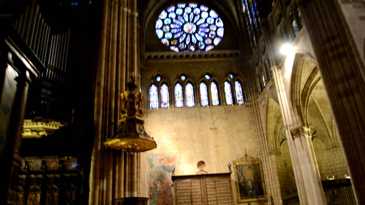 gregorian chants in the le243n cathedral youtube