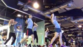 "One forteen- Zumba at celebrity fitness song ""do you love m"
