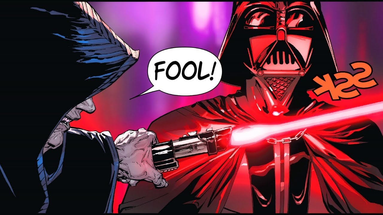 Sidious PROVES That Lightsabers are Worthless(CANON) - Star Wars Comics Explained