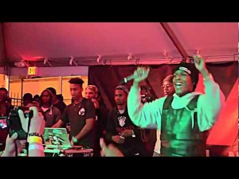 ASAP Rocky killing the SXSW w/Schoolboy Q, Kendrick Lamar, Smoke Dza, etc.