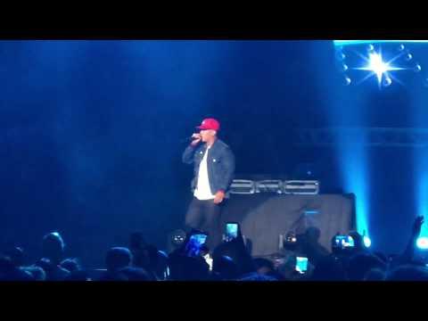 Oye mi canto  Hasta abajo  Machucando  Daddy Yankee en vivo