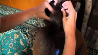 Видео урок: прическа с плетением на длинные волосы.