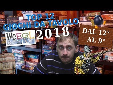 Top 12 Giochi da tavolo WEEGL 2018 ! [Dal 12° al 9°]
