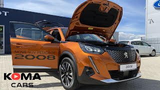 Peugeot 2008 NEW Allure 2021 (walk-through), interior, exterier, boot space, dimensions