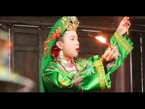 Cậu đồng Hoàng Quốc Việt lên đồng ở Thanh Hóa