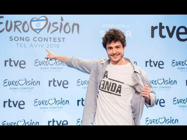 RUEDA DE PRENSA CON MIKI | Eurovisión 2019