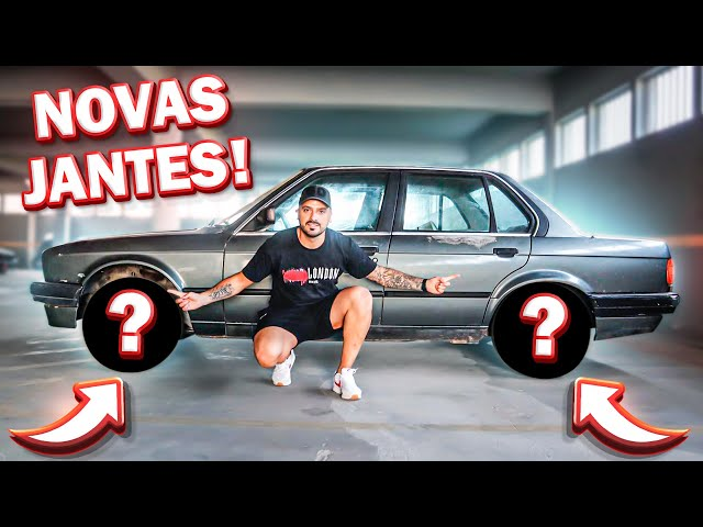 AS NOVAS JANTES DO E30!!!