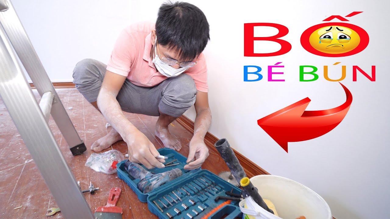 Sửa Phòng Ngủ Cho Bé Bún và Bé Bắp