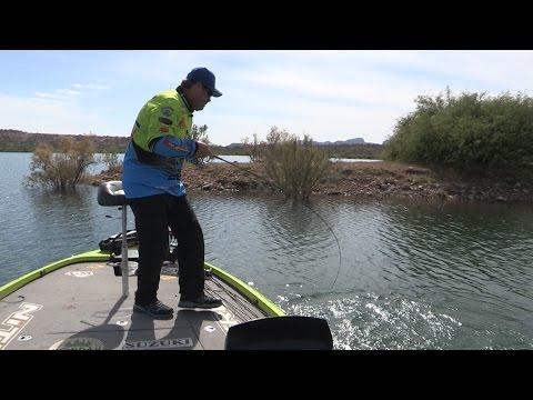 Fishing with Johnny Johnson - Lake Pleasant, AZ – Senkos For Late Spawn – April, 2016
