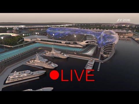 F1 2016 Abu Dhabi Event Live