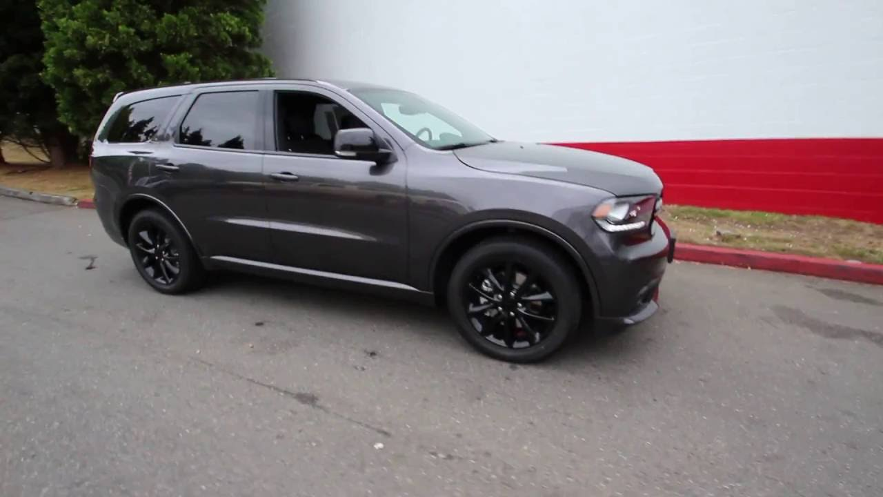 2017 Dodge Durango R T Granite Metallic Hc606363