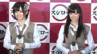 大阪を拠点に活動する人気アイドルグループ「NMB48」の山本彩さんと渡辺...