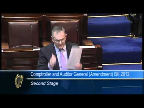 John McGuinness - Comptroller and Auditor General Bill 2012 Part 2
