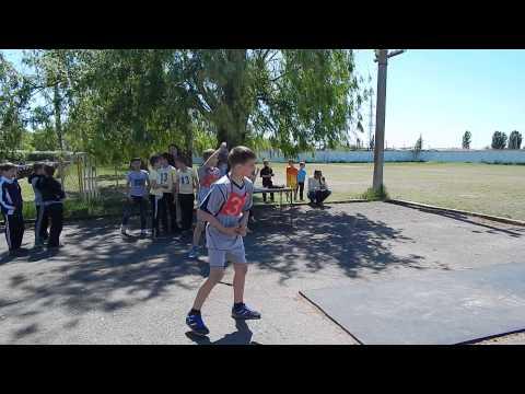 Метание мяча. «Олимпийские надежды». Видео Корабелов.Инфо