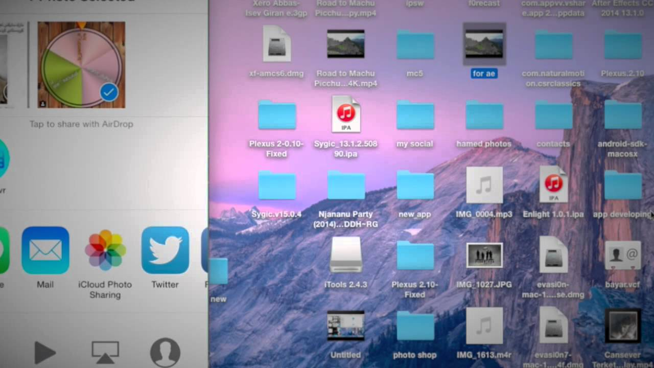 How To Send Anything From Iphone To Mac By Airdrop