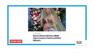 Beyoncé's baby bump is a 'political rallying cry'